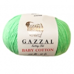 Gazzal - Baby Cotton כותנה 60%, פוליאקריל 40%